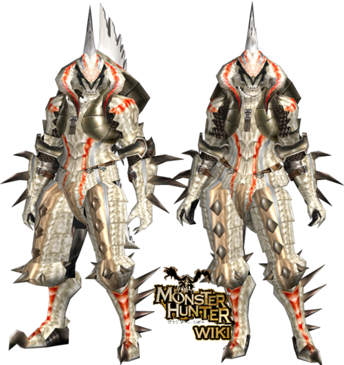 Blade Black And White White Fatalis z Armor Blade