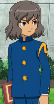 Shindou in his school uniform (2)