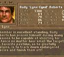 "Rudy ""Lynx-Eyed"" Roberts"