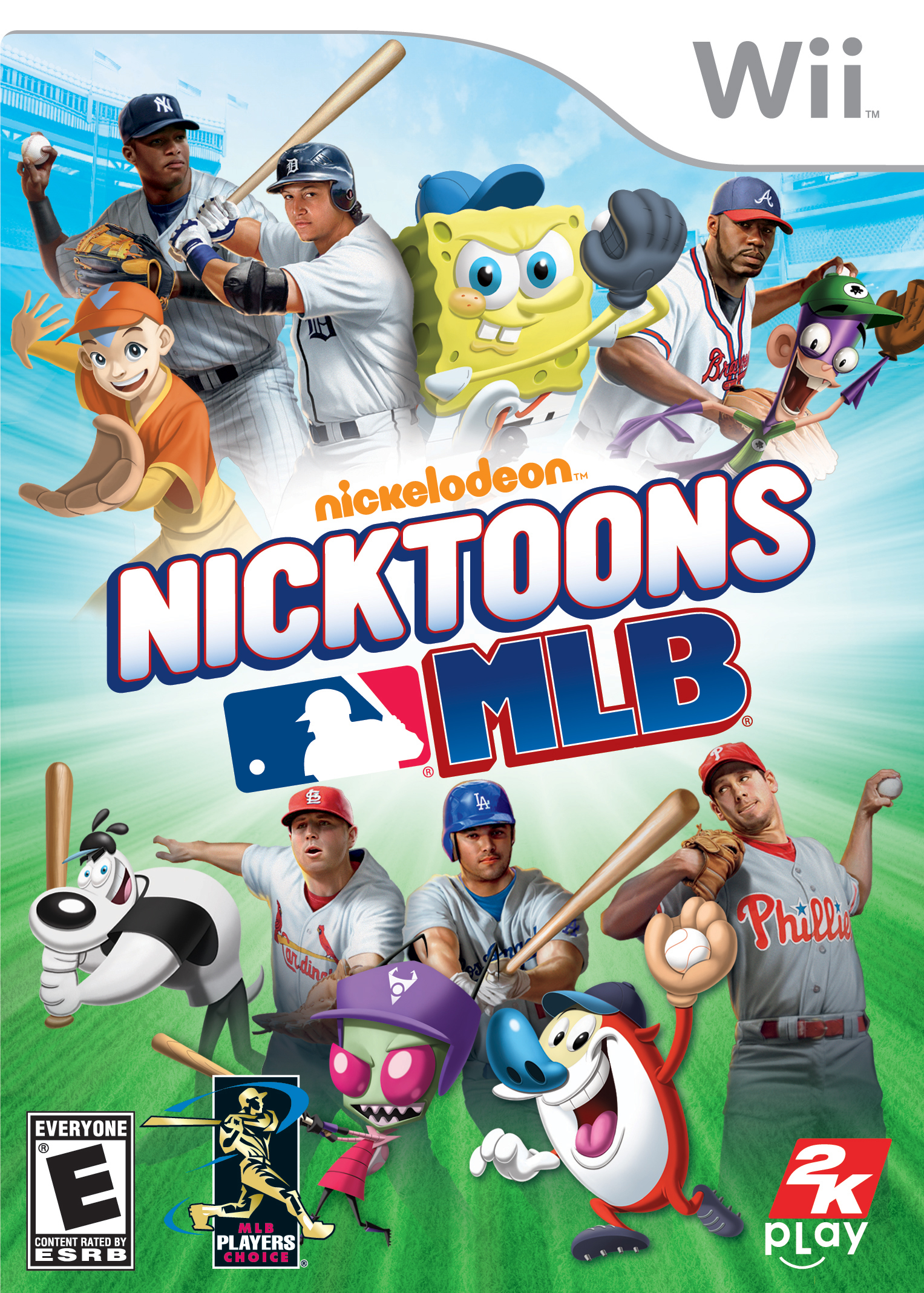 Wii Games List 2012 : Nicktoons mlb box wii na