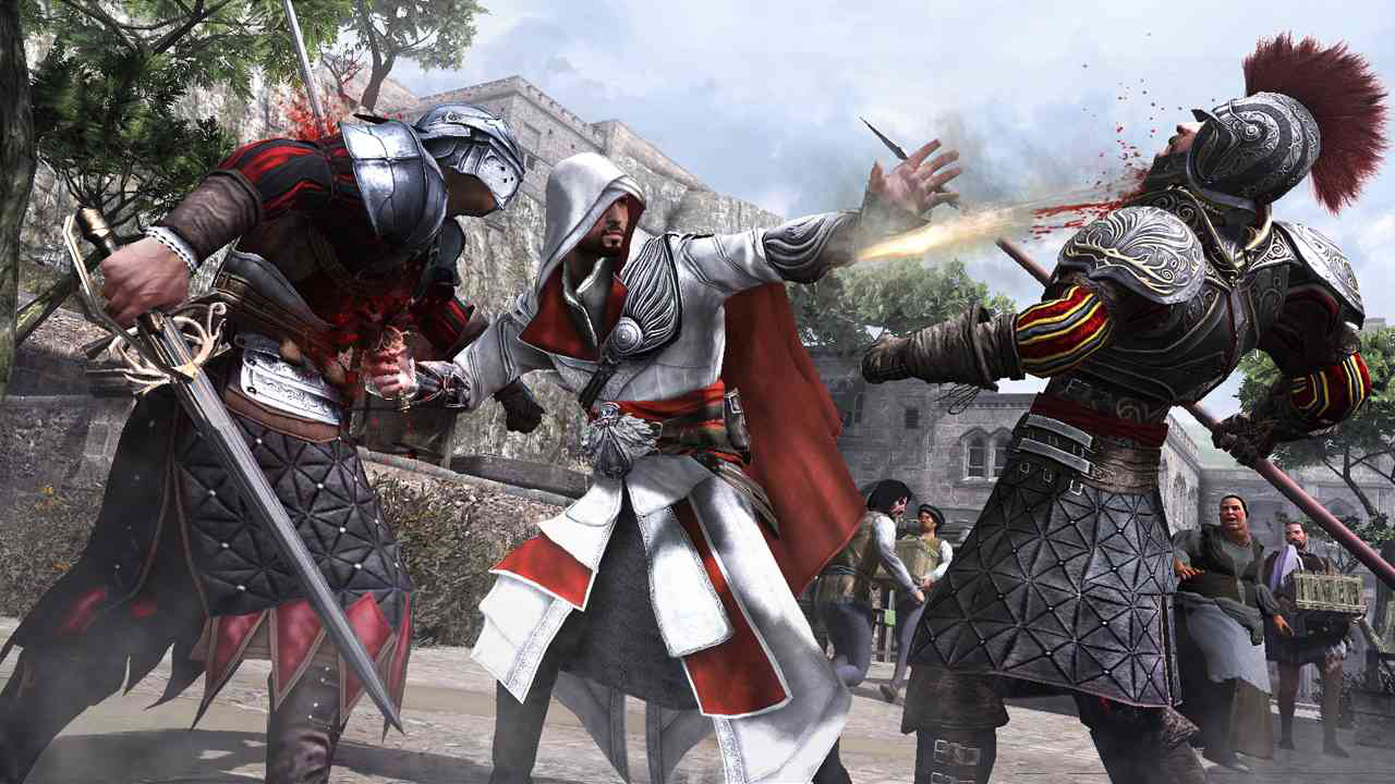 Dual Wield Swords Real Life Ezio Dual Wielding a Sword