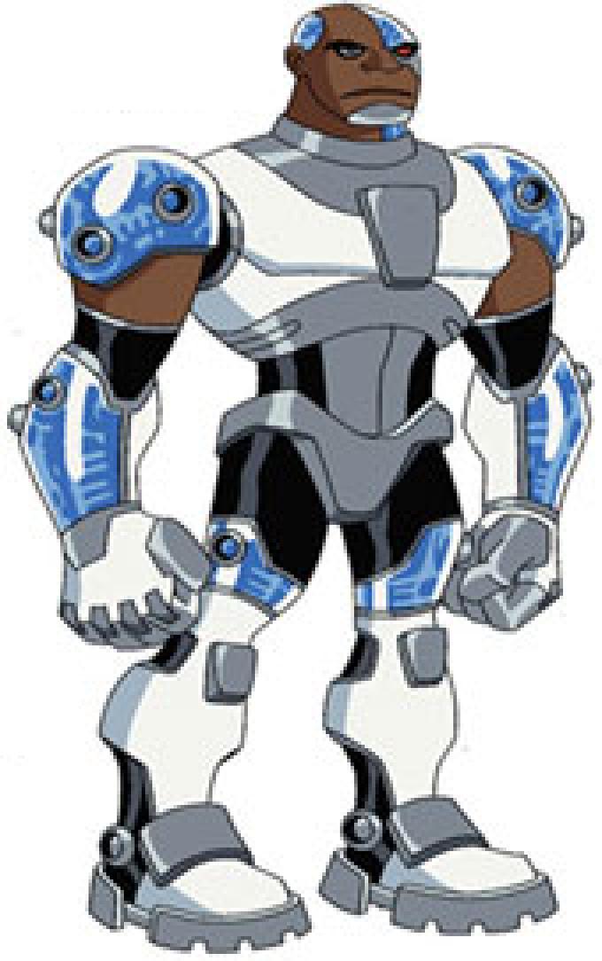 Cyborg Teen Titans Human Cyborg - transformer titans Justice League Unlimited Cyborg
