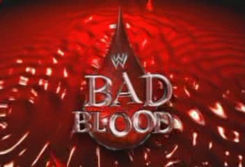 Wwe tables ladders and chairs logo - Wwe Bad Blood Logopedia The Logo And Branding Site