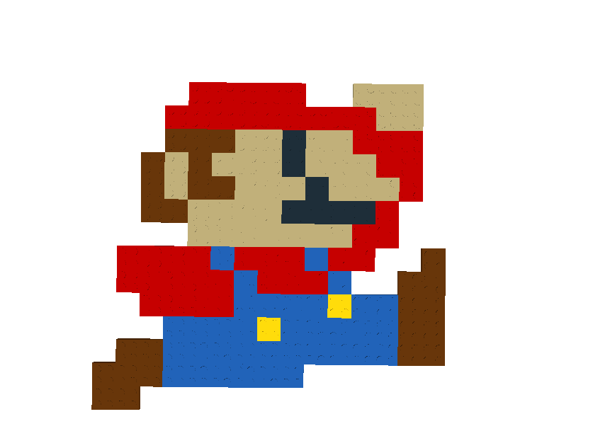 Custom classic color mario brickipedia the lego wiki for What color is mario