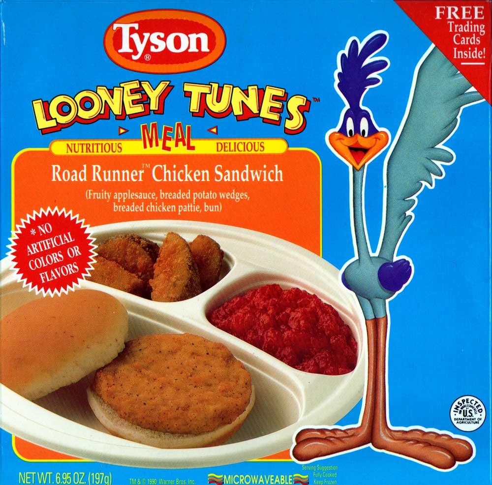 Road Runner Chicken Sandwich Tv Dinners Wiki