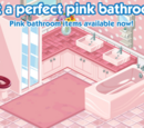 Pink Bathroom & Cottage Kitchen Week