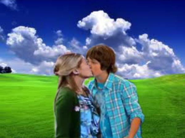 Olivia Holt And Leo Howard Kiss Image - Jack and kim k...