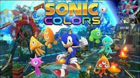 """Sonic Colors """"Planet Wisp Act 1"""" Music"""