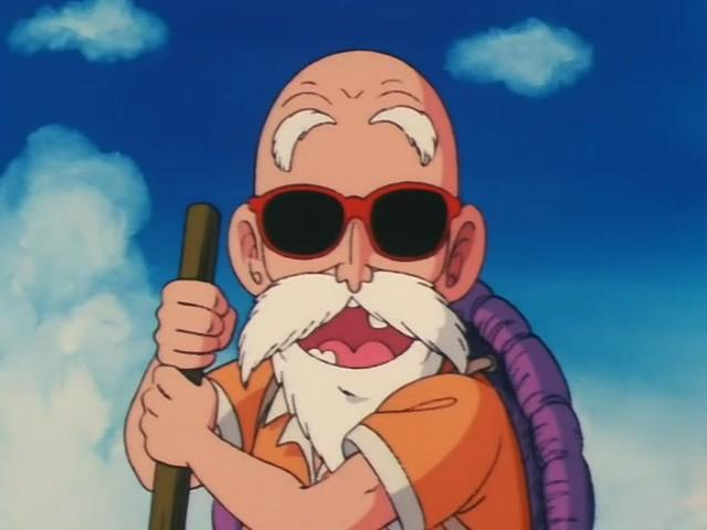 Image - Roshi face.jpg - Dragon Ball Wiki