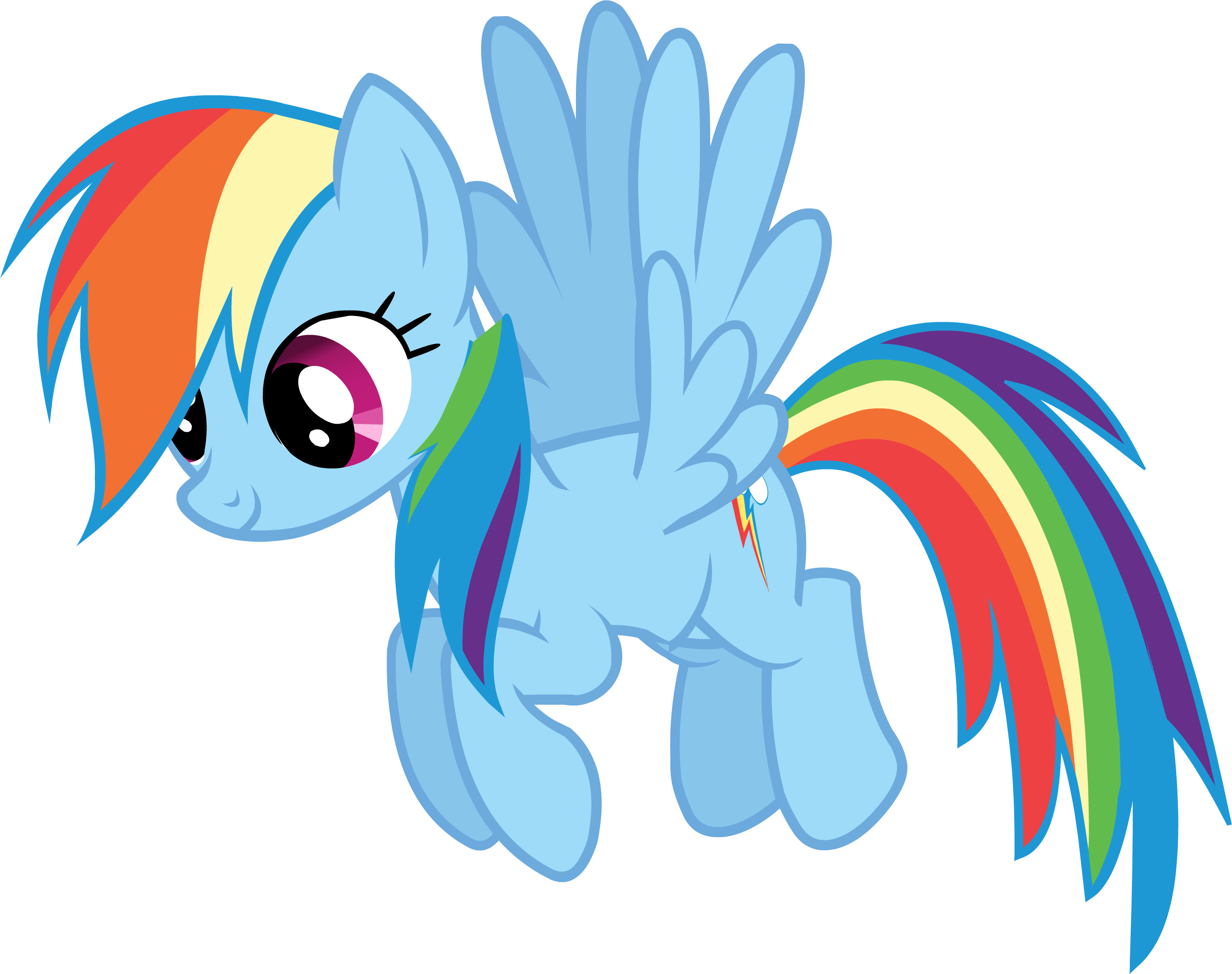 Rainbow Cartoon Png File Aip Rainbow Dash2 Png