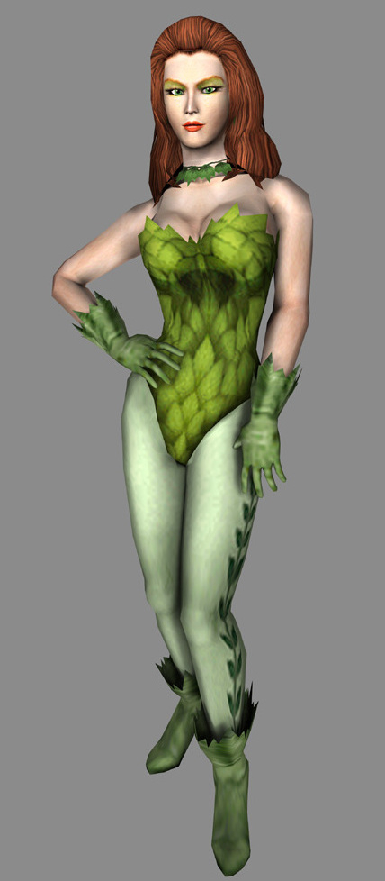 real life naked poison ivy