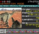 Mini Tyrannosaurus