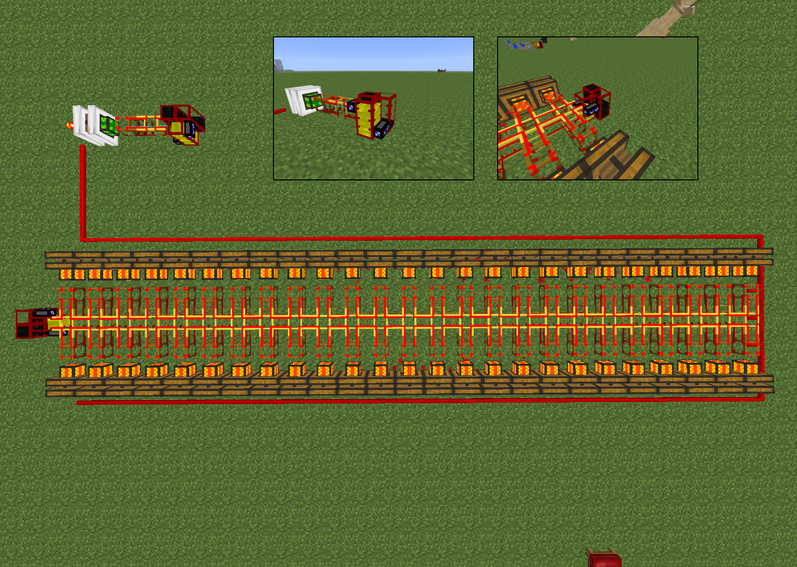 minecraft how to use redstone comparator