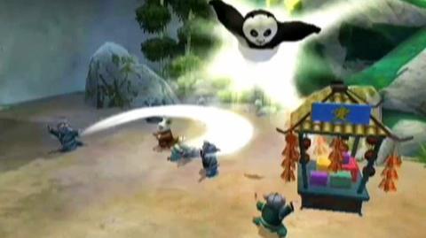Kung Fu Panda Legendary Warriors (VG) (2008) - Wii, Nintendo DS