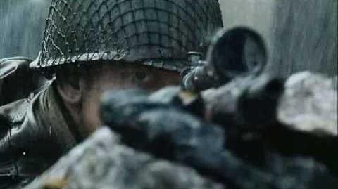 Saving Private Ryan- sniper shot