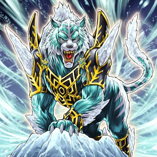 Dewloren, Rey Tigre de la Barrera de Hielo - Yu-Gi-Oh! Wiki en