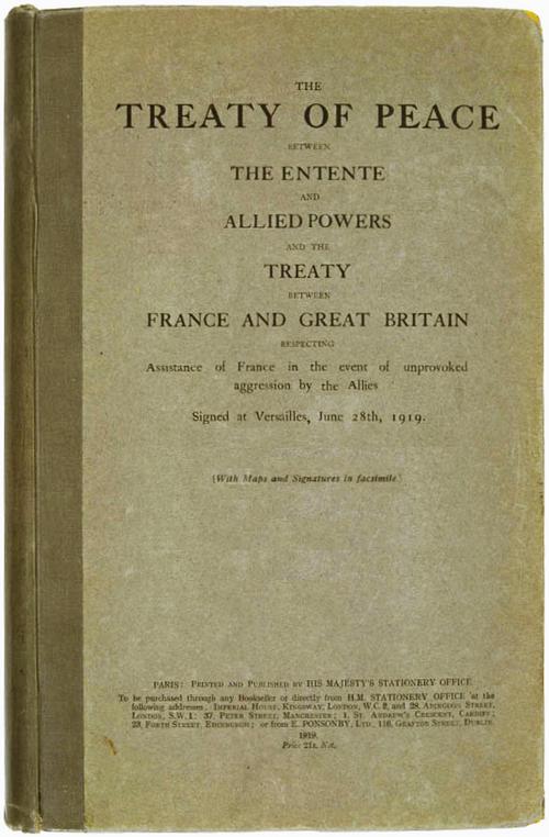 Treaty Of Versailles No Napoleon Alternative History