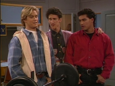 Zack Morris   A C  Slater and Screech Powers enroll at California    Zack Morris College Years