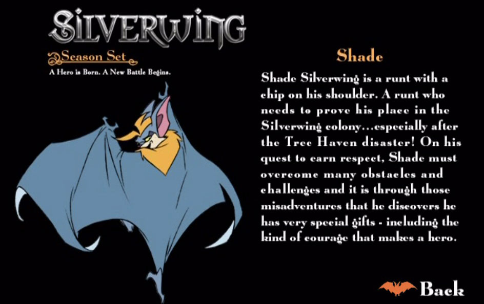 Shade Silverwing Silverwing Wiki