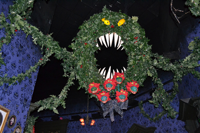 Man-Eating Wreath - The Nightmare Before Christmas Wiki