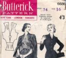 Butterick 6686 A