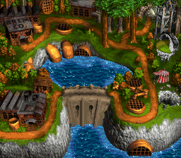 Image - Mekanos - World Map - Donkey Kong Country 3.png ...