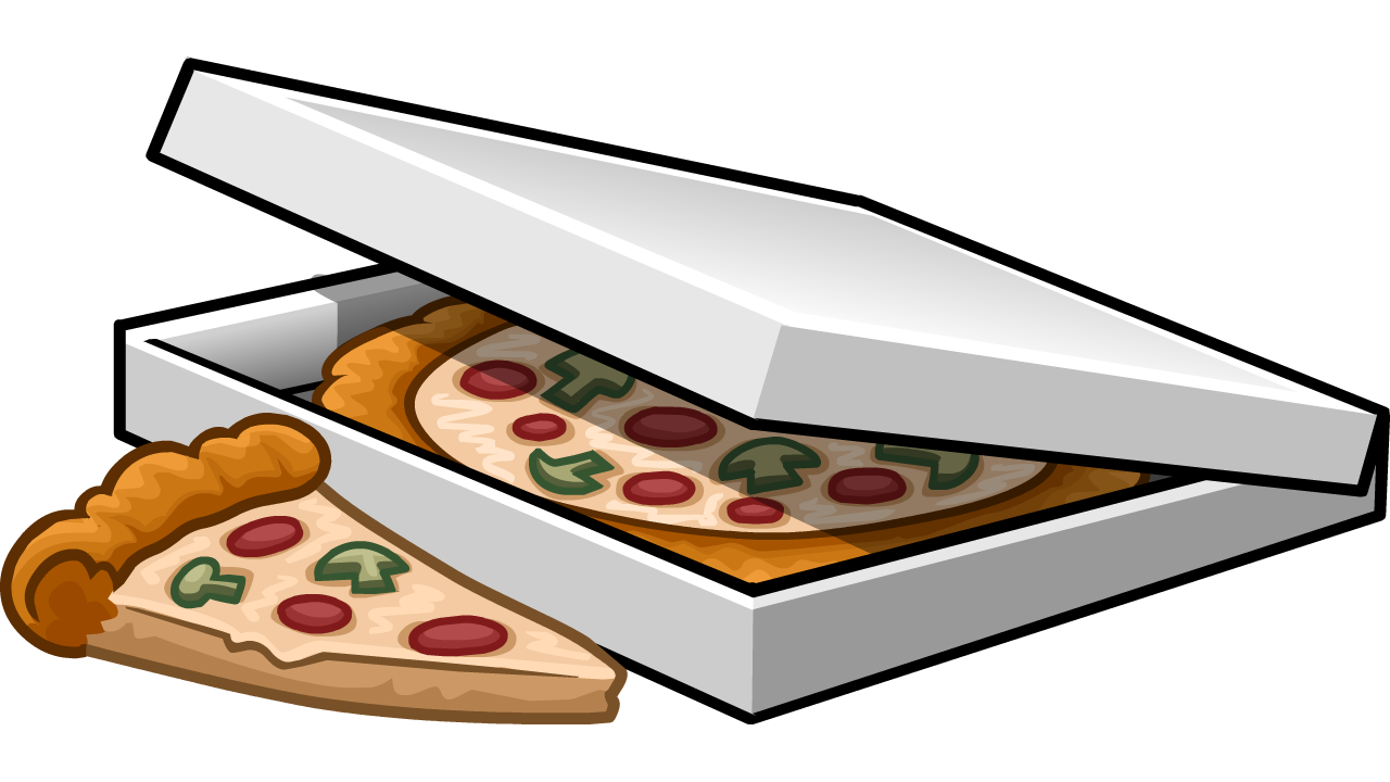 Box Fan Clip Art : Box of pizza slices club penguin wiki the free