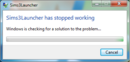 Sims3Launcher stopped working.png