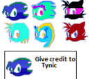 Tye The Hedgehog/Do you think these are recolors