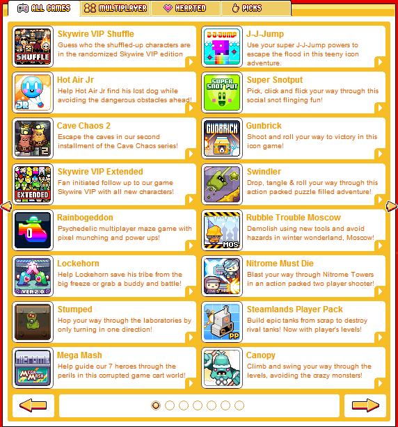 Nitrome Games List