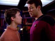 Riker hat keine Zeit für Wesley