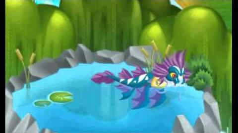 Dragon city Pure Water Dragon animation collection.