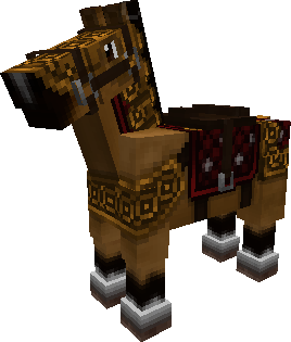 how to get a chest on a horse in minecraft