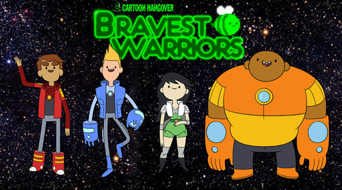 Bravest Warriors official designs