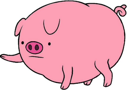 image pig s4e21 png the adventure time wiki mathematical clipart of a pig clip art of pigs