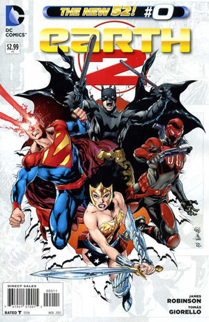 Cover for Earth 2 #0 (2012)