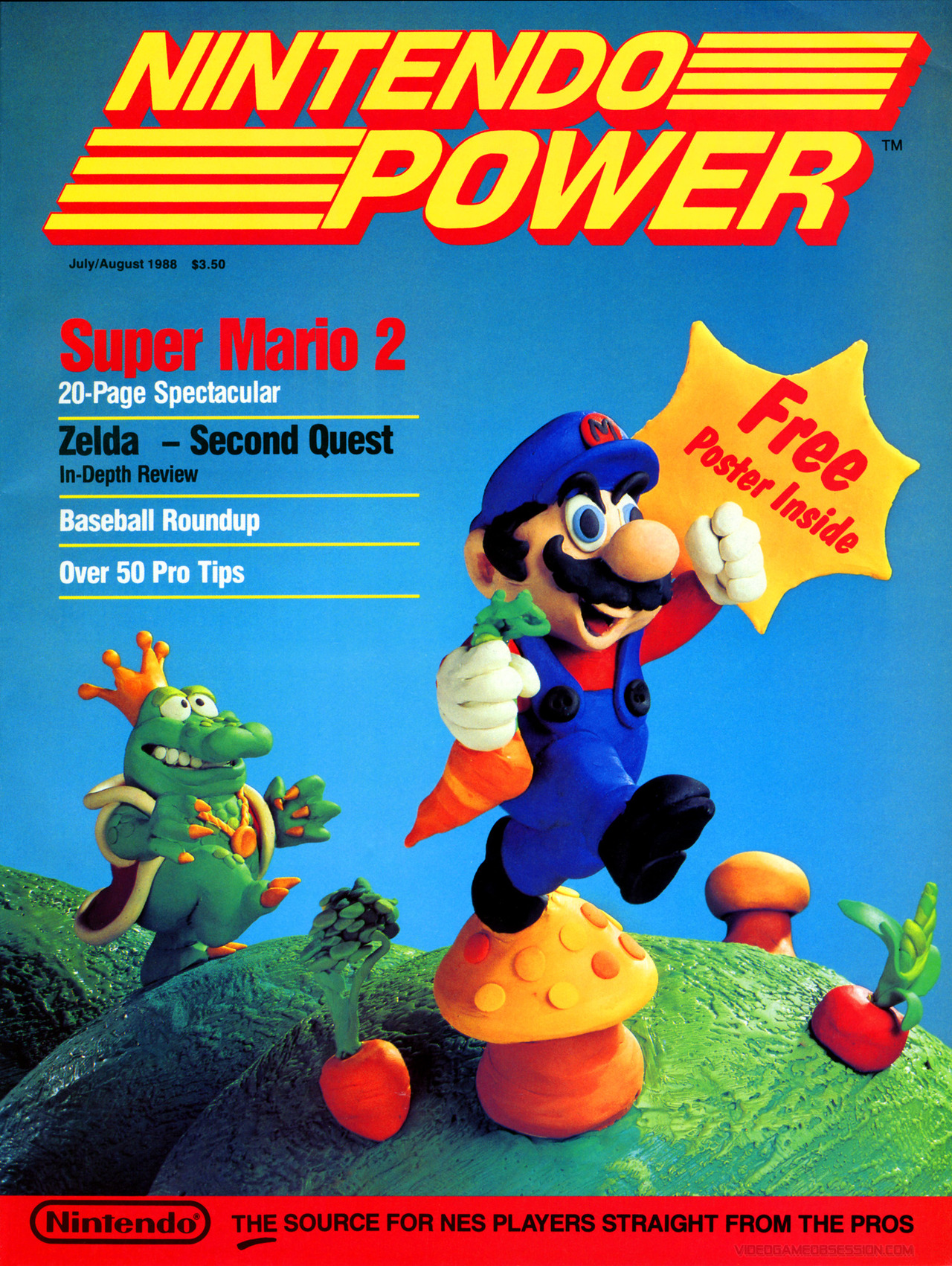 Nintendo Power Issue 1 Review: It All Started Here - Super Mario Bros  2