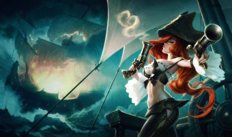 THE BOTTOM LANE'S FIRST CHAMPION PICK OF THE WEEK -  MISS FORTUNE
