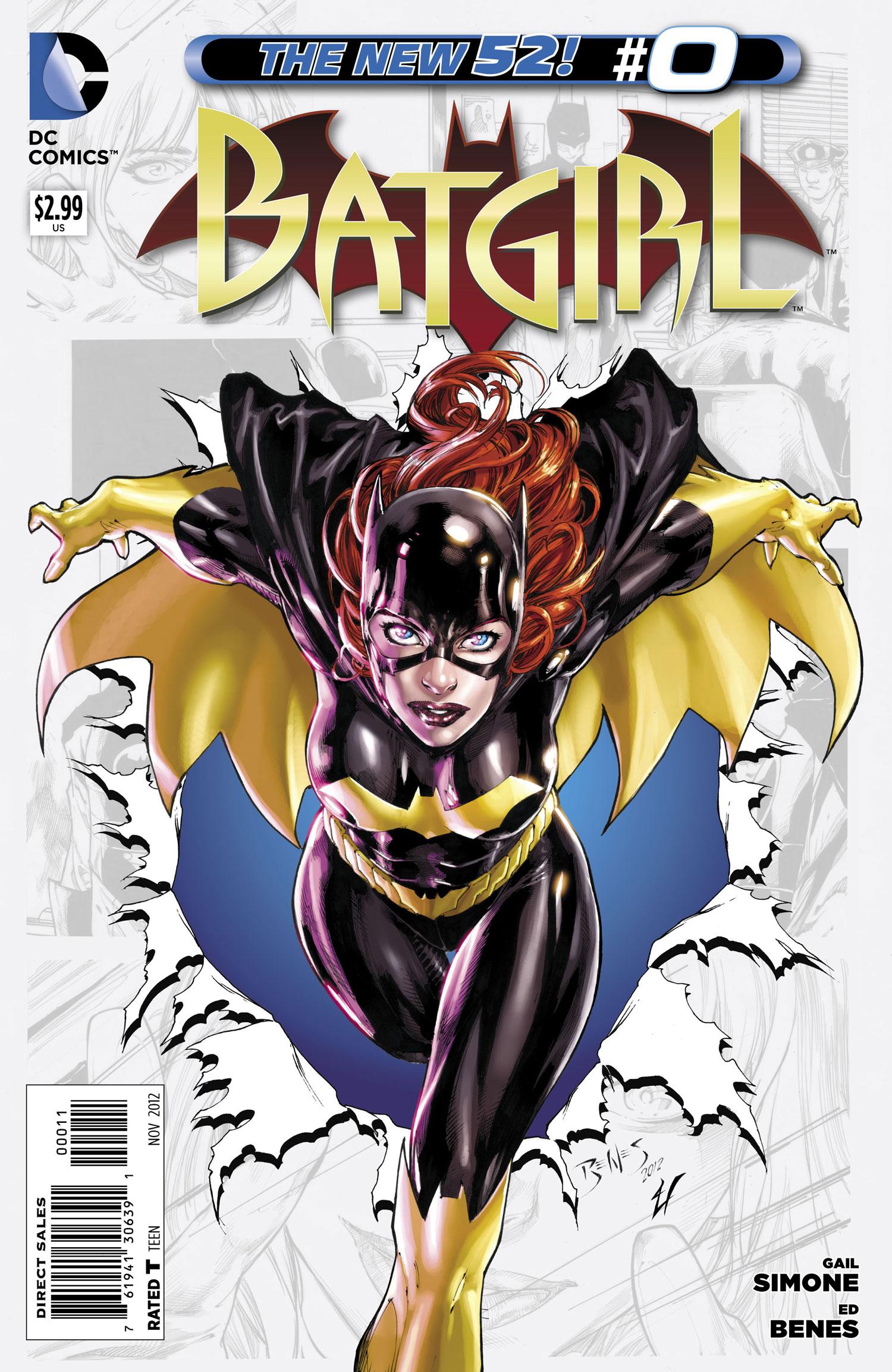 Cover For Batgirl #0 (2012