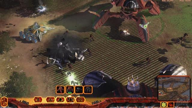 Universe at War Earth Assault PC Games Gameplay - Stomping the Novus (HD)