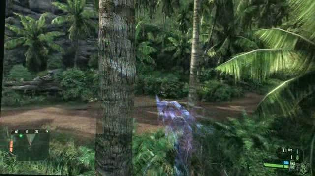 Crysis PC Games Gameplay - GC 2007 Roll the Logs (HD Off-Screen)