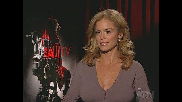 Saw IV Movie Interview - Interview