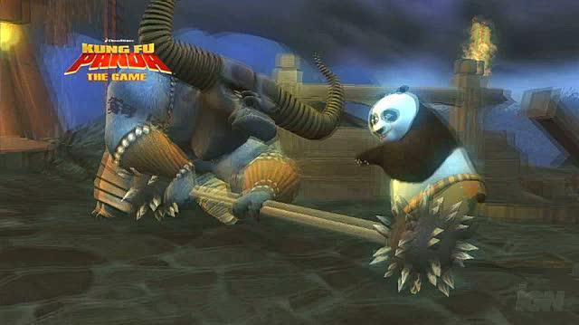 Kung Fu Panda Xbox 360 Trailer - Combat