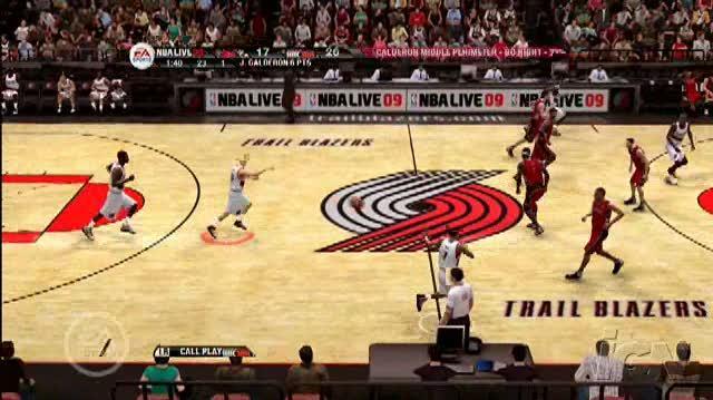 NBA Live 09 Xbox 360 Gameplay - Summer Camp (No-Audio)