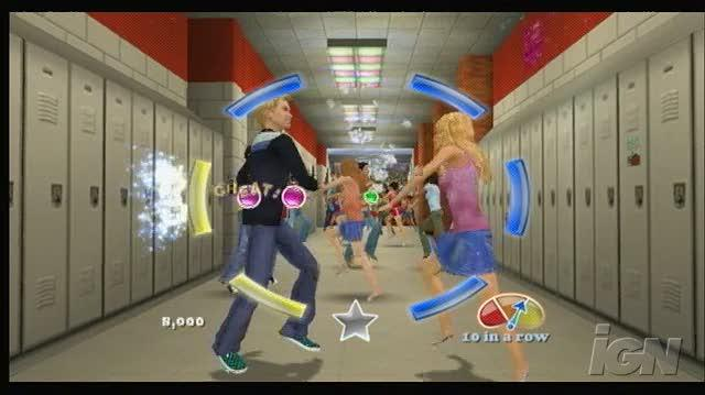 High School Musical 3 Senior Year Dance Nintendo Wii Gameplay - What Time is It
