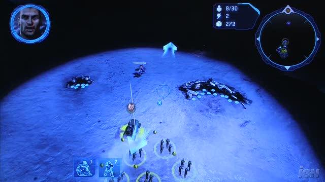 Halo Wars Xbox 360 Gameplay - CES 2009 Building Defenses (Off-Screen)