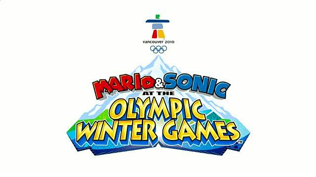 Mario & Sonic at the Olympic Winter Games Nintendo Wii Trailer - Teaser Trailer