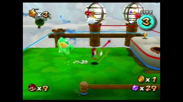 Super Mario Galaxy 2 Wii - Yoshi Star Galaxy - Spiny Control