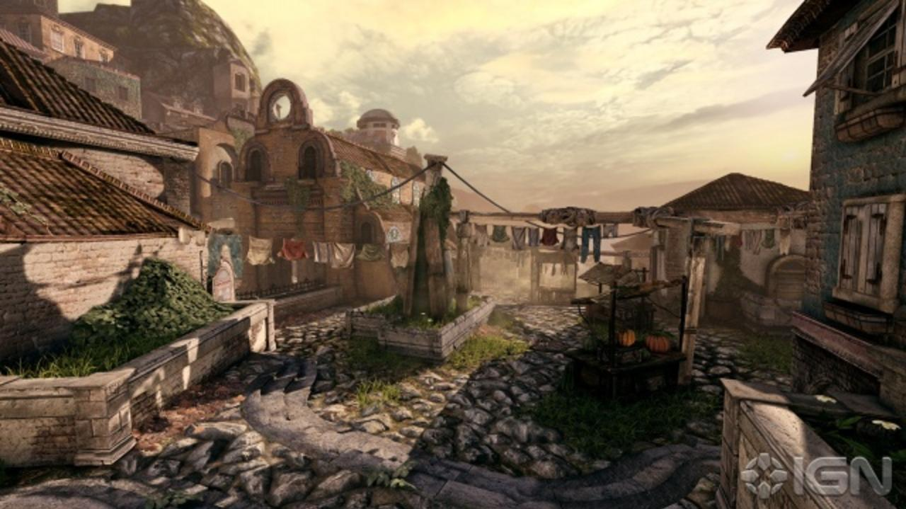 Gears of War 3 Beta Map Tour Old Town