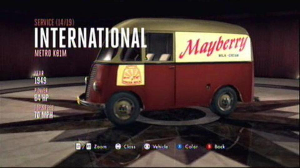 L.A. Noire Hidden Vehicles Service - International Metro KB1M - Wilshire
